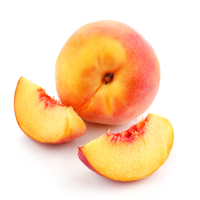 peach raw materials scent market